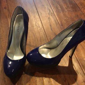 Royal Blue Heels